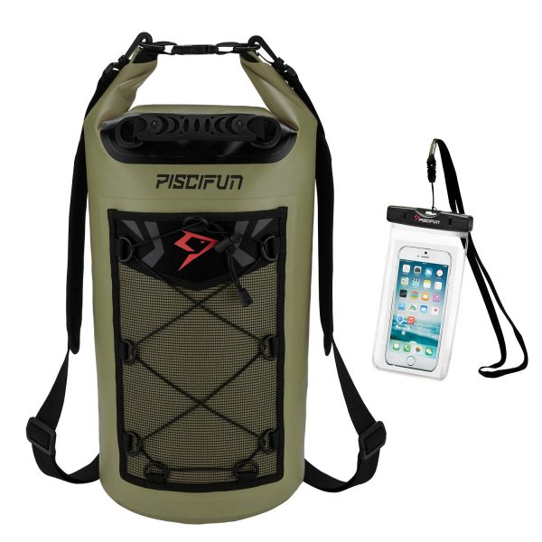 Piscifun Dry Bag Olive Green