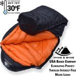 Goose Down Lightweight Sleeping Bag +30 deg Limit