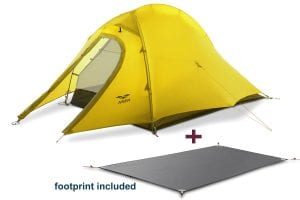 Lightweight Tent Mier 2 Person 3 Season Backpacking Tent