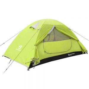 Bessport 1 Person Motorcycle Camping Tent