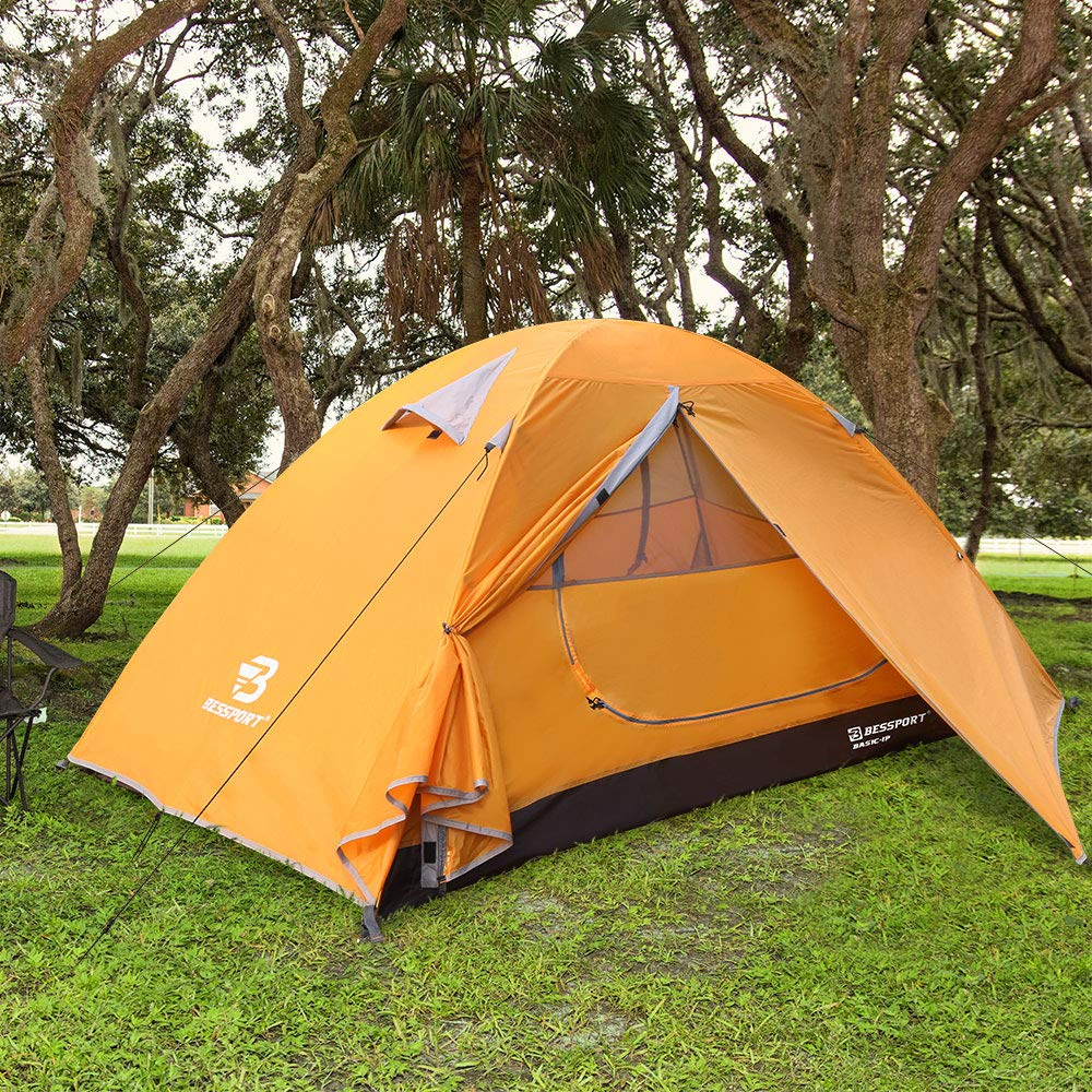 Bessport 2-Person Motorcycle Camping Tent - Moto-camping Tent