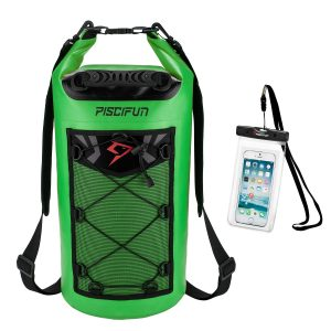 Waterproof Dry Bag Backpack green