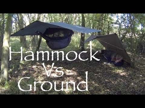 hammock vs ground