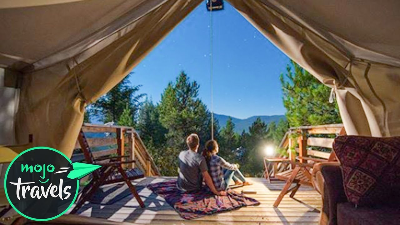 10 best glamping spots