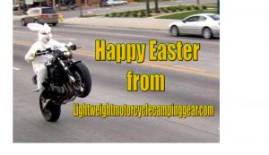 Happy Easter Motorcycle
